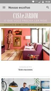 Revista Casa e Jardim screenshot 0