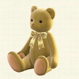 くま ぬいぐるみ 森 あつ の クマのテキスタイル(テディ・ベア)【あつ森マイデザ】