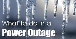 Image result for what to do in power outage