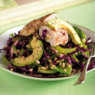 Chicken, Avocado & Spelt Salad