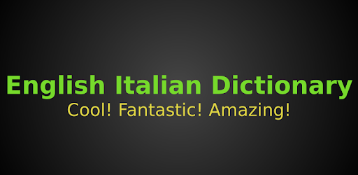 English Italian Dictionary app (apk) free download for Android/PC/Windows screenshot