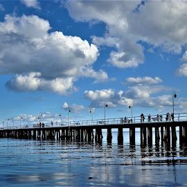 Pier by Tomasz Budziak - Buildings & Architecture Bridges & Suspended Structures ( landscapes, pier, waterscape, poland )