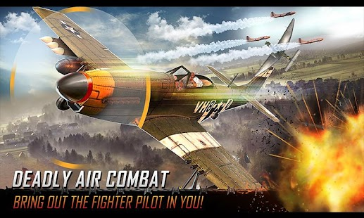 Flying Airplane War Jet- WW2 Combat Mission - náhled