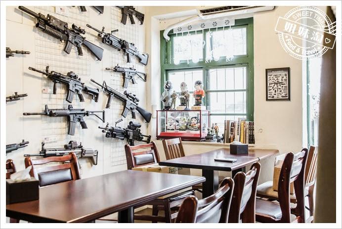 麗貞館展示槍