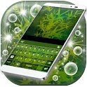 Abstract Leaves Theme Keyboard icon