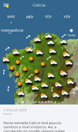 MeteoGalicia 4.2.2 screenshots 1