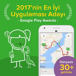 Citymapper - İstanbul Haritası Screenshot