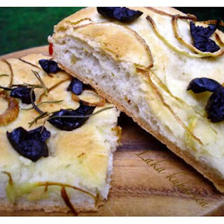 Focaccia Bread From Bread Maker