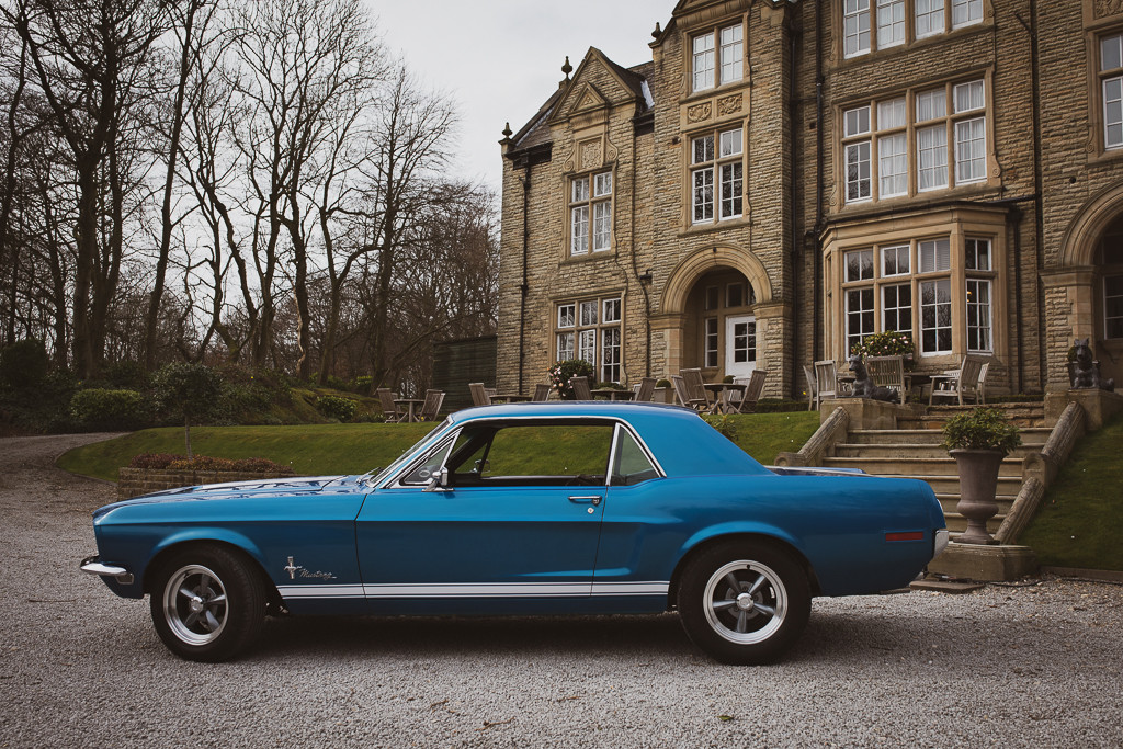 Ford Mustang Hire Leeds