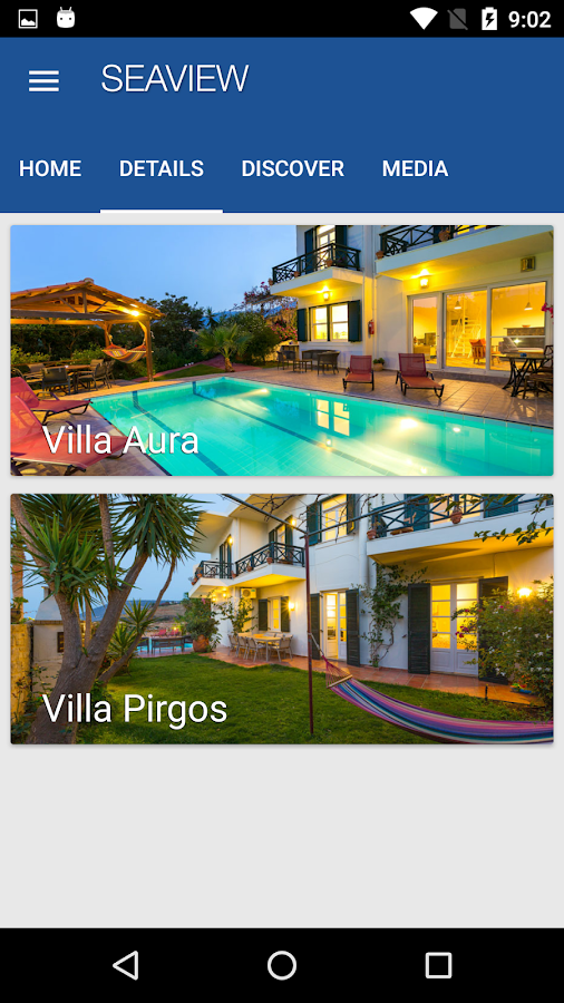 Seaview Villas- screenshot