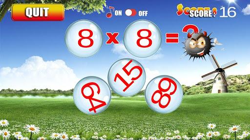 Multiplication Tables screenshot