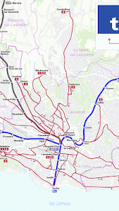 Lausanne Metro Map – Lausanne Metro Map – Android Maps & Navigation Apps