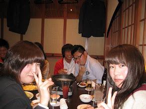 Photo: 手前に新入生2人、来てくれてありがとね~^^(うしろの輩はいつまでもいじられると想うなよ)