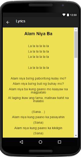 james reid alam niya ba lyrics