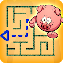 Maze game - Kids puzzle & educational game icon