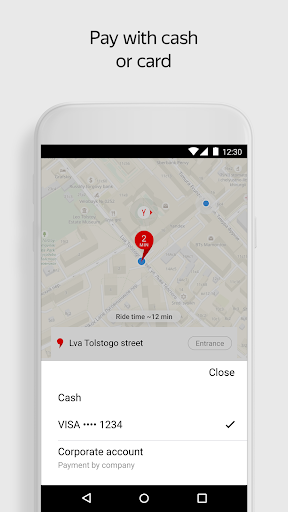 Yandex.Taxi Ride-Hailing Service screenshot 2