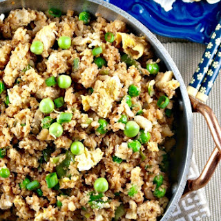 "Easy Cauliflower Fried ""Rice"""