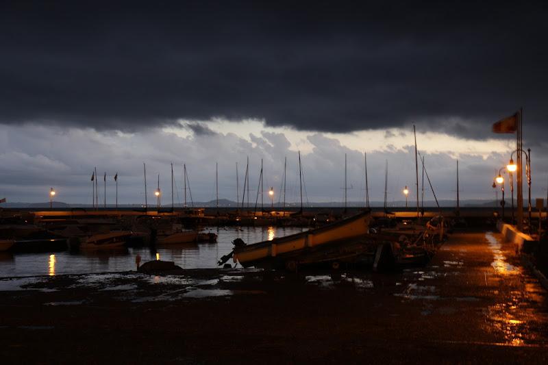 pioggia sul porto di rob