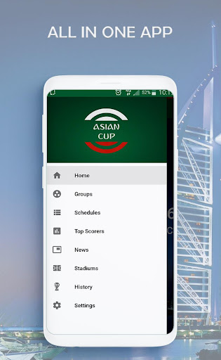 Fixtures & Live scores for Asian cup 2019 2 screenshots 2