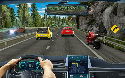City Highway Traffic Racer - 3D Car Racing apktram screenshots 1