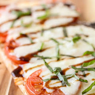 Caprese Flatbread Pizza.