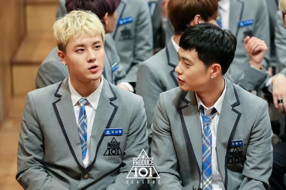 produce 101 season 2 offroad kim namhyung jeong dongsoo arkay kino