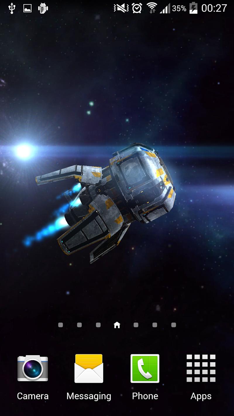 Скриншот Space Explorer 3D - LWP Free