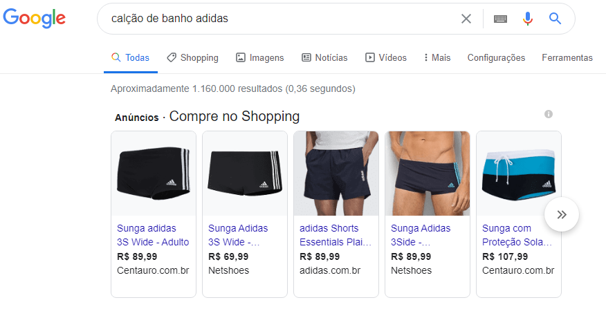 como colocar anuncio no google shopping