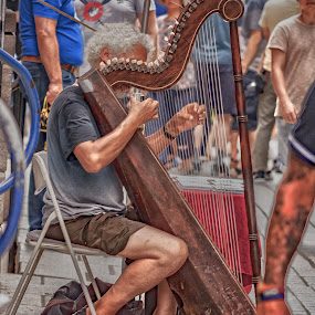 Street music player by Zoran Mrđanov - People Musicians & Entertainers (  )