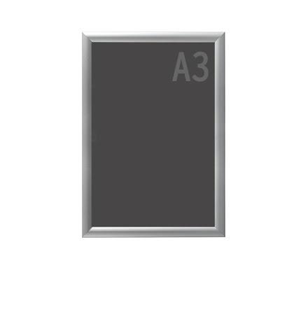 Snäppram, Econ. Frame A3, 25mm aluminiumprofil