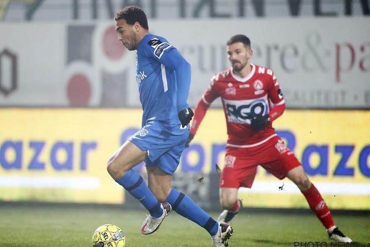 Cyriel Dessers KV Kortrijk - RC Genk