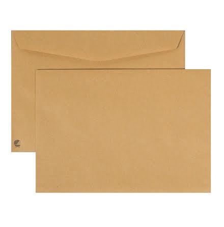 Kuvert C5 brun FH 80g   500/kt