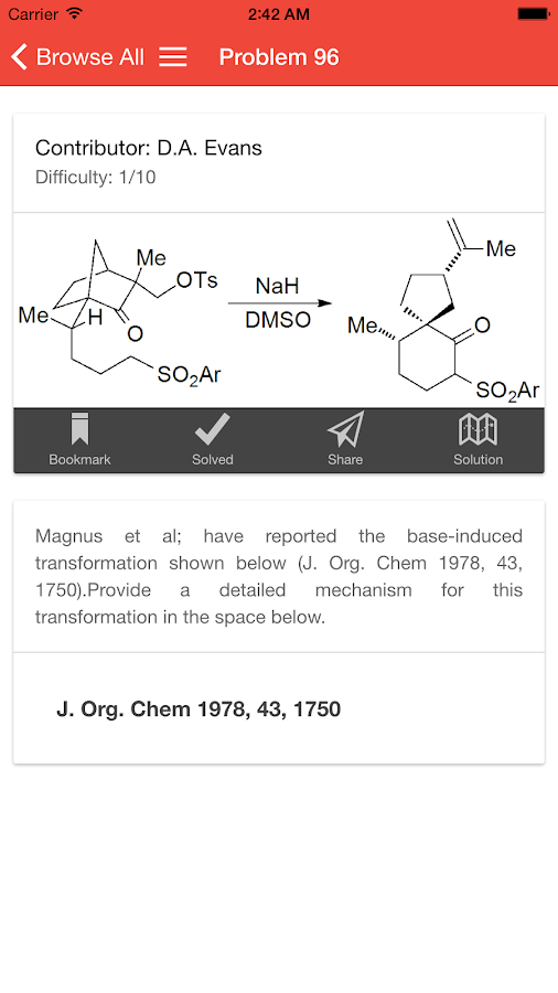 apoc organic chemistry android apps on google play apoc organic chemistry screenshot