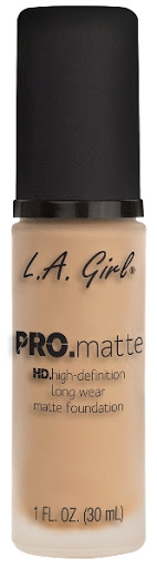 Bases La Girl Pro Matte 671 Ivory