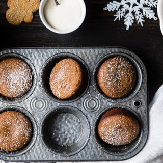 Best Healthy Gingerbread Muffins.