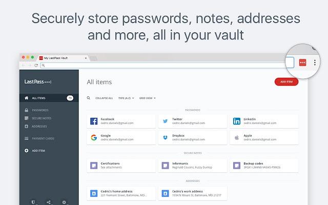 LastPass: Free Password Manager Screenshot