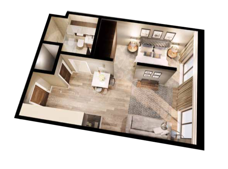 Studio apartment Tannery