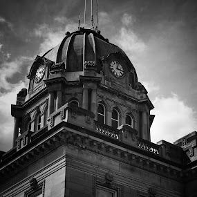 Kankakee clock tower by Sean Michael - Buildings & Architecture Architectural Detail