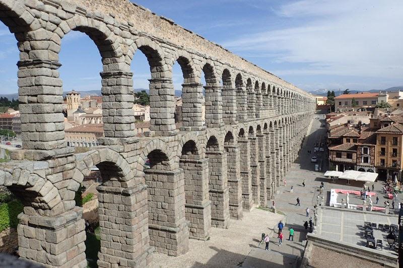 Acueducto de Segovia (Segovia, Spain)