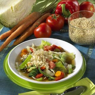 Low-Calorie Cabbage Soup.