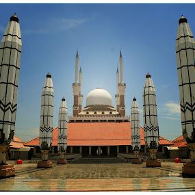 Masjid Agung semarang #2 by Mas Bagus - Buildings & Architecture Statues & Monuments ( architectur )
