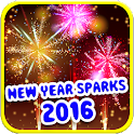 New Year Sparks 2016 icon
