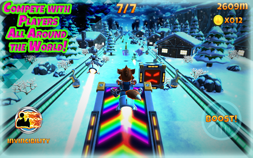 Rocket Racer screenshot