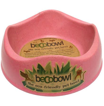 Beco Matskål Rosa från Växtfiber 14cm