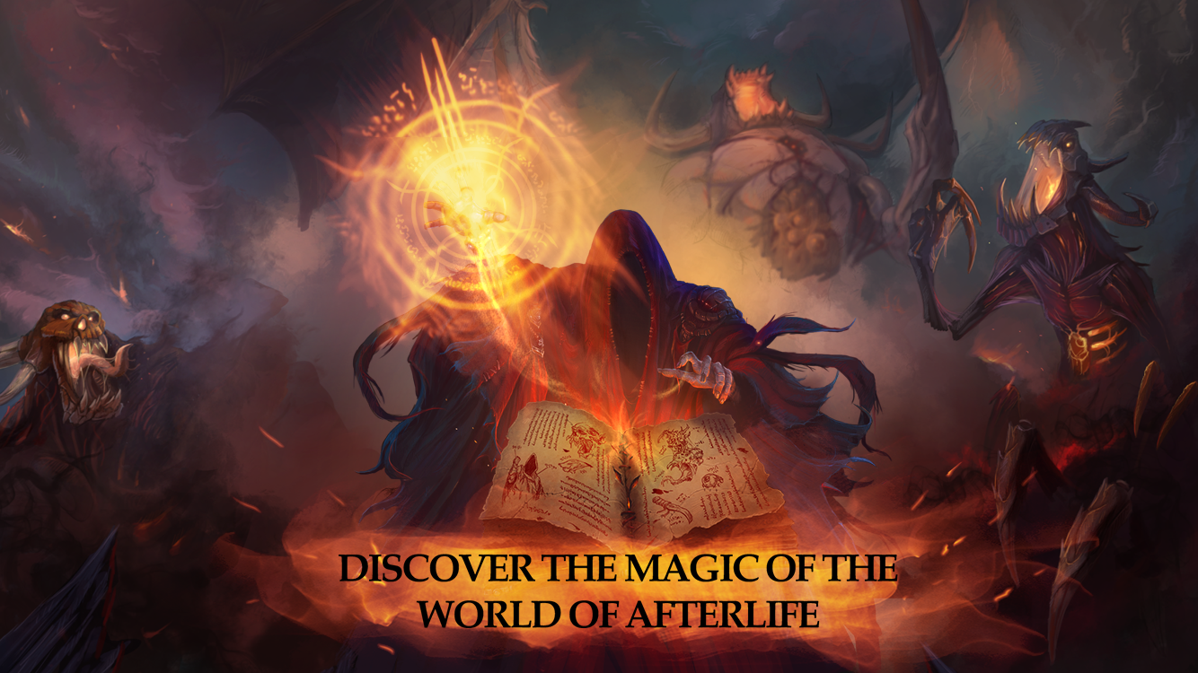 Afterlife: RPG Clicker CCG- screenshot
