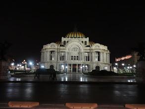 Photo: Palacio de Bellas Artes (Palace of Fine Arts). Sem jsme o den později šli na balet