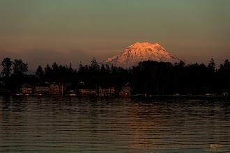 Photo: Mountain Glow