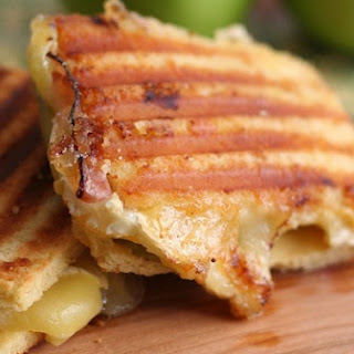 Brie, Ham and Green Apple Panini
