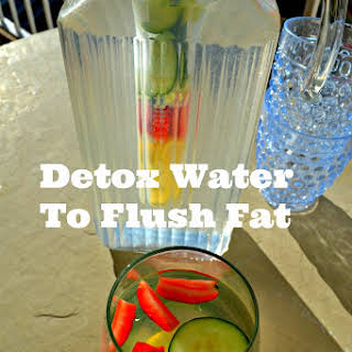 Detox Water Drink To Flush Fat.
