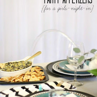 Easy Party Appetizers for Girls-Night-In